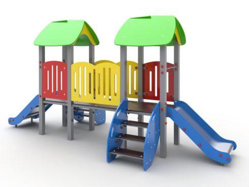 Игровое оборудование для детской площадки от компании Броксталь
